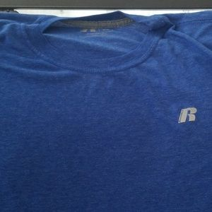 Russell Athletic Mens Sized Large Dri Power Shirt